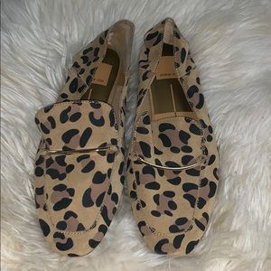 Dolce vita leopard loafers